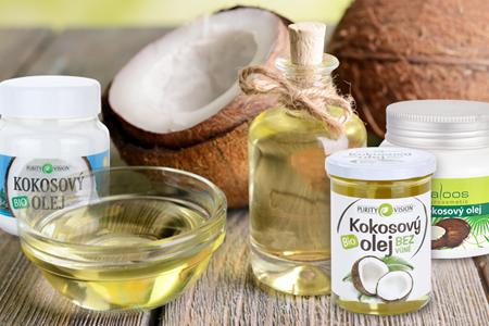 kokosový olej a jeho použitie