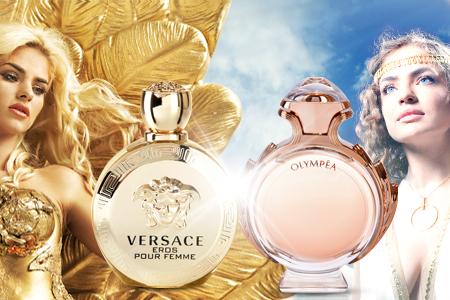 Versace Eros verzus Paco Rabanne Olympea