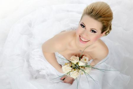 Kozmetická príprava na svadobný deň