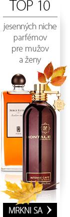 TOP 10 jesenných niche vôní pre dámy a pánov