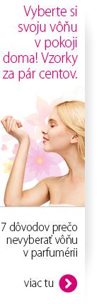 Vzorky parfémov