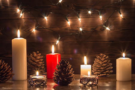 Kúzlo vonných sviečok