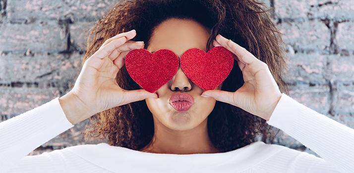 príprava na Valentína