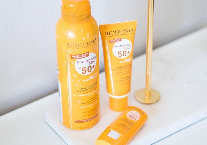 slnečná kozmetika s ochranným faktorom Bioderma