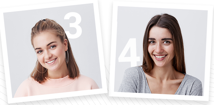 výsledky testu: fototyp 3 a 4