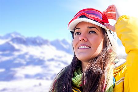 Krásna aj v horách: Tipy na vodoodolný make-up na zimu