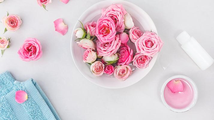 lupene ruží na výrobu pleťovej vody