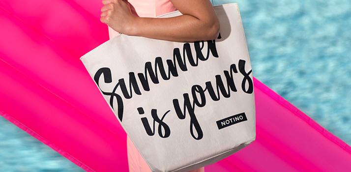 letná plážová taška Notino Summer Is Yours