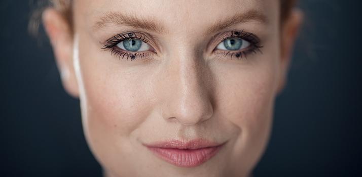 bodkované očné linky