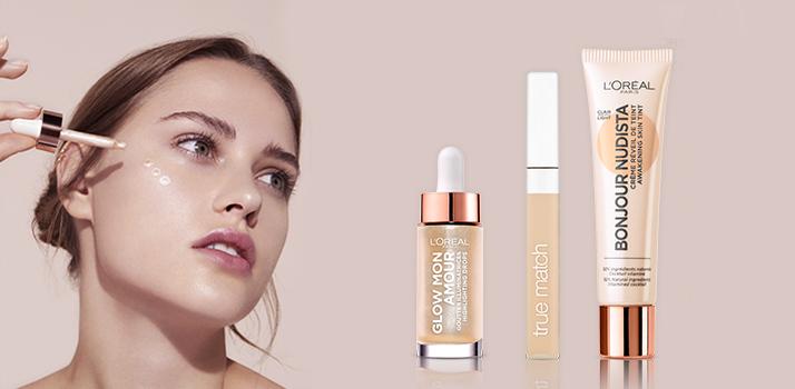 prirodzený letný makeup s L'Oréal Paris