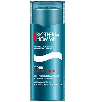 BIOTHERM Homme T-Pur Anti Oil & Shine matujúci gél s hydratačným účinkom