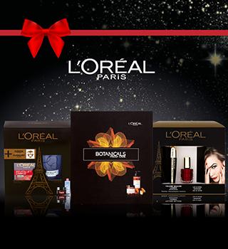 L'Oréal Paris exkluzívne vianočné balíčky