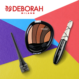 Deborah Milano líčenie očí