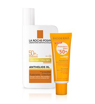 Dermatokozmetika Slnečná kozmetika